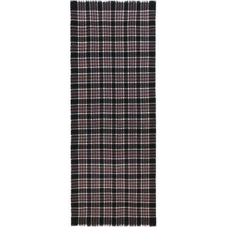 ALEXANDER MCQUEEN, Wool Fashion Scarf, Double Tartan Scarf