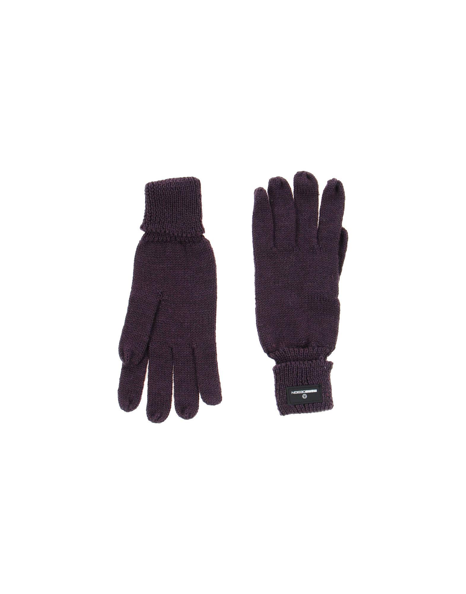 MOMO DESIGN Damen Handschuhe Farbe Pflaume Größe 1