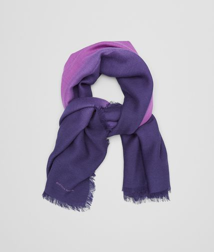 SCARF IN PARMA VIOLET BLUE WOOL