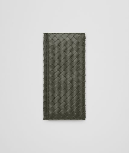 CONTINENTAL WALLET IN DARK SERGEANT INTRECCIATO VN