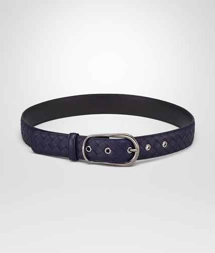 BELT IN ATLANTIC INTRECCIATO NAPPA