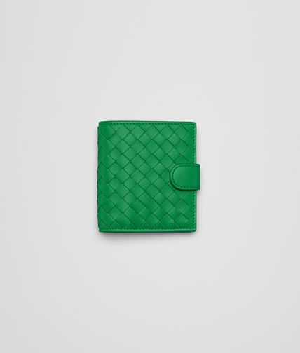 PORTEFEUILLE MINI IRISH EN NAPPA INTRECCIATO