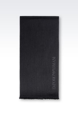 Armani Scarves Men wool scarf