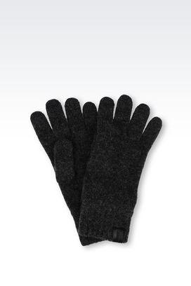 Armani Gloves Men cashmere glove