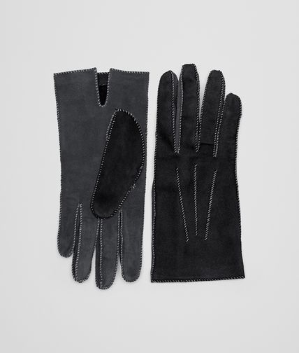 ARDOISE NERO SUEDE GLOVES