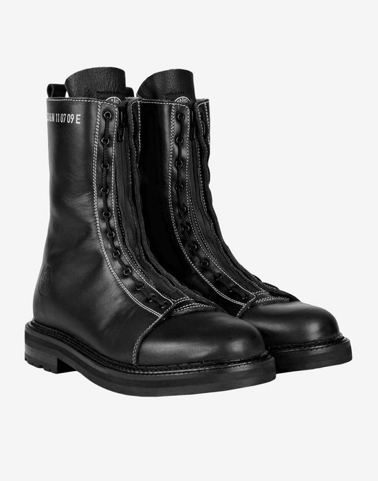 Combat Boots Stone Island Men Official Store