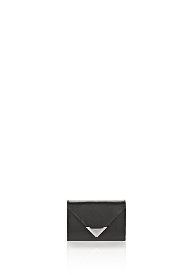 ALEXANDER WANG slgsccwp PRISMA SKELETAL CARD HOLDER IN BLACK