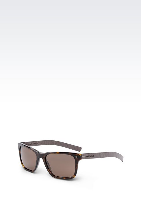 sunglasses in acetate and wood sunglasses men by armani 2