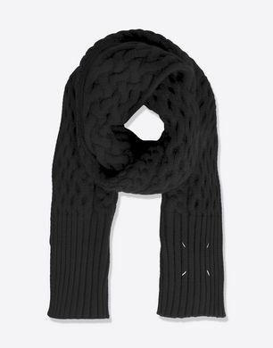 Maison Margiela バルキーニット ウール スカーフ