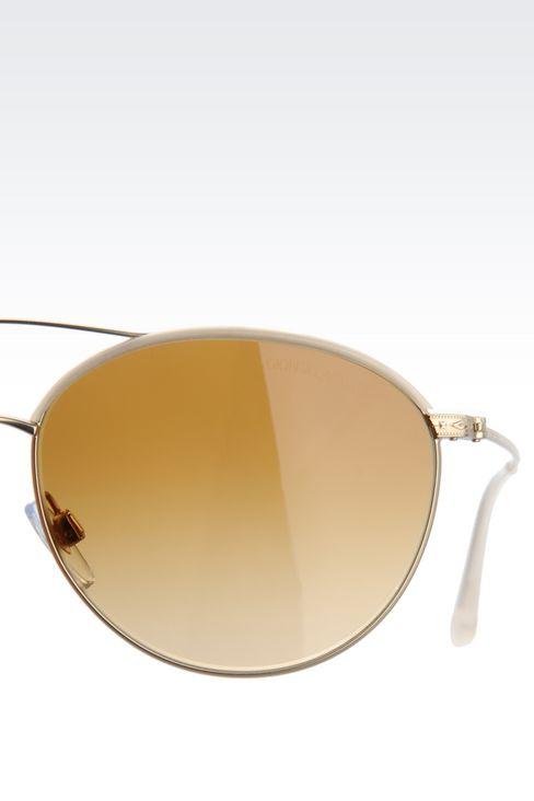 SUNGLASSES FROM THE GIORGIO ARMANI FRAMES OF LIFE COLLECTION
