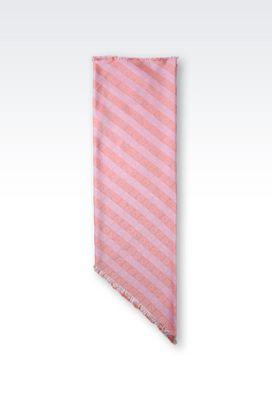 Armani Stoles Women silk modal scarf
