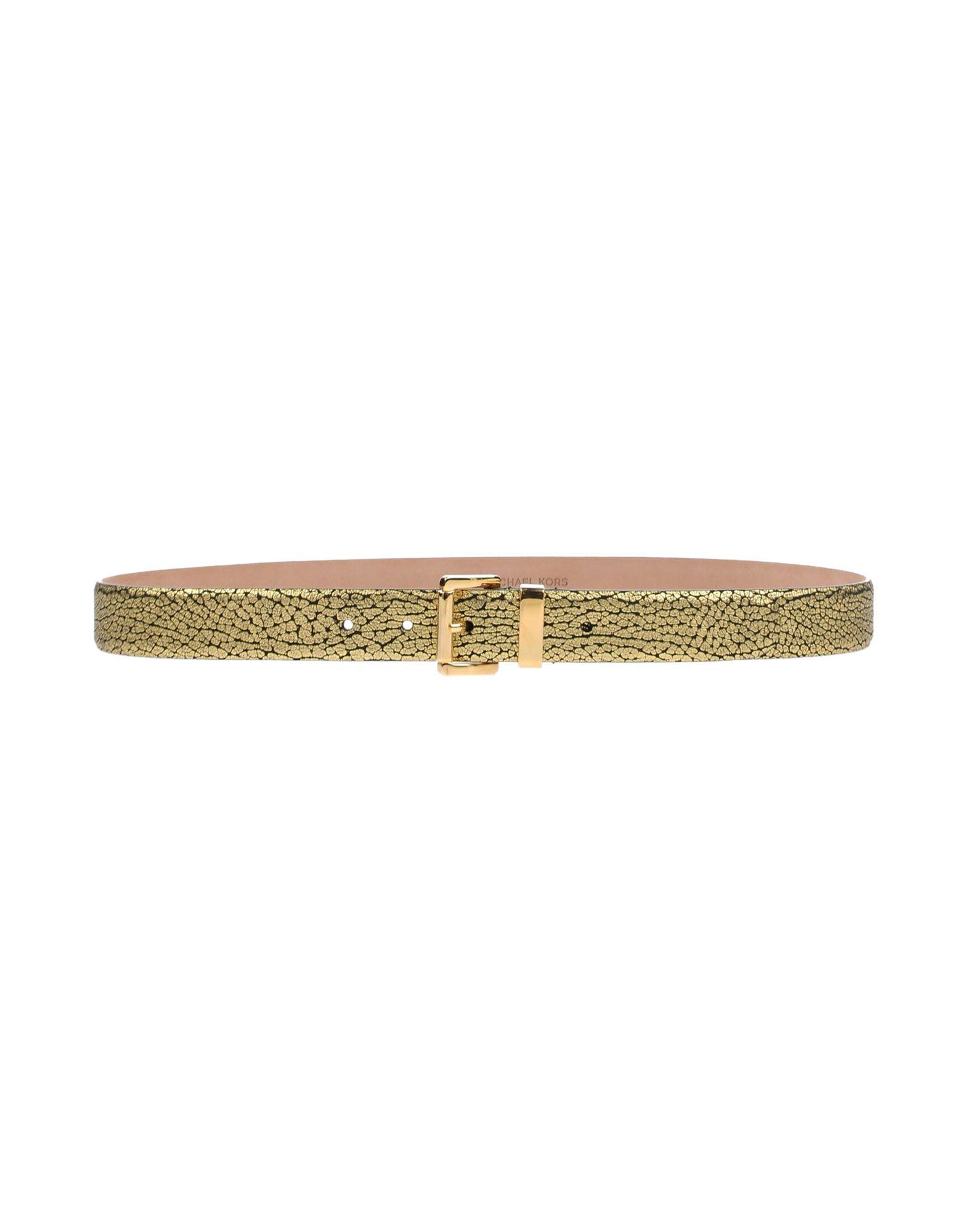 MICHAEL KORS Damen Gürtel Farbe Gold Größe 6