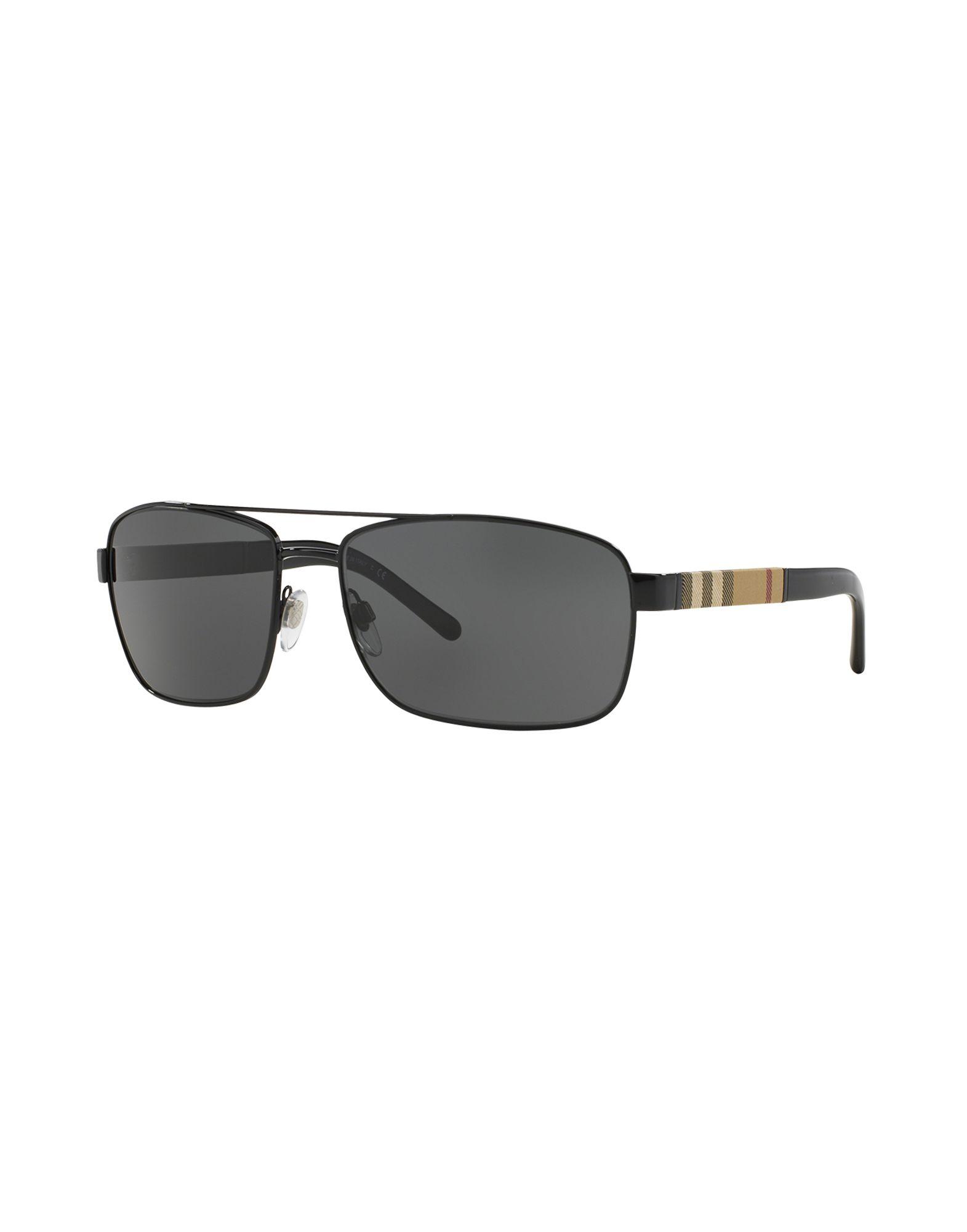 BURBERRY Herren Sonnenbrille Farbe Schwarz Größe 1