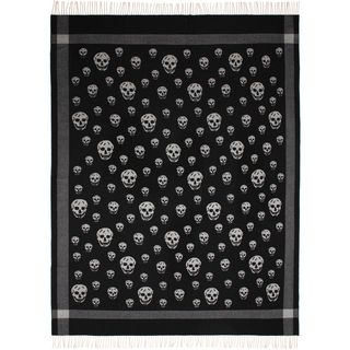 ALEXANDER MCQUEEN, Tie, Large Skull Shawl