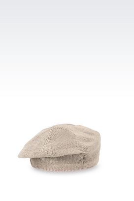 Armani Hats Men knit basco hat