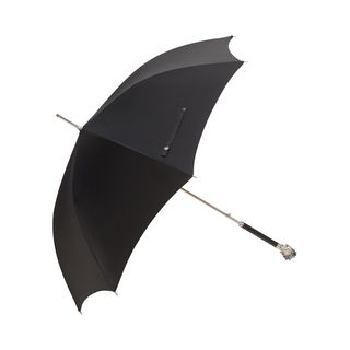 ALEXANDER MCQUEEN, Umbrella, Black and Silver Rosin Skull Umbrella
