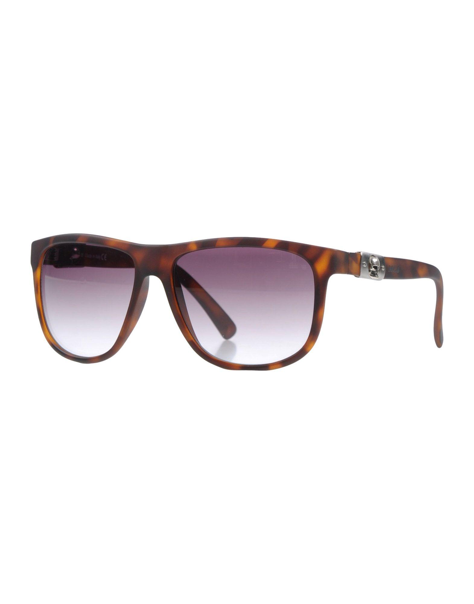 MCJ Herren Sonnenbrille Farbe Dunkelbraun Größe 1