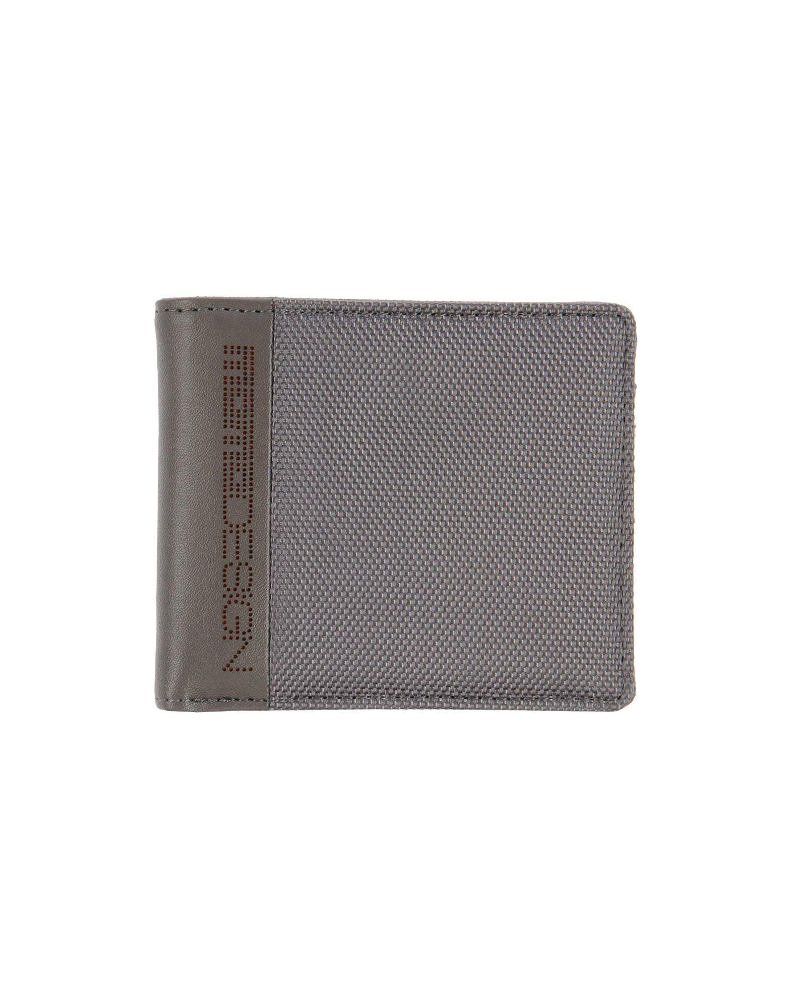 MOMO DESIGN Herren Brieftasche Farbe Grau Größe 1