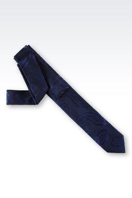 Armani Ties Men tie in paisley print silk