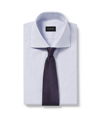 ERMENEGILDO ZEGNA: Cravatta Blu - 46434501JN