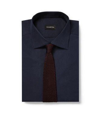 ERMENEGILDO ZEGNA: Tie Dark brown - 46434502BA