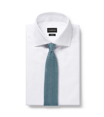 ERMENEGILDO ZEGNA: Tie Light green - 46434503UQ