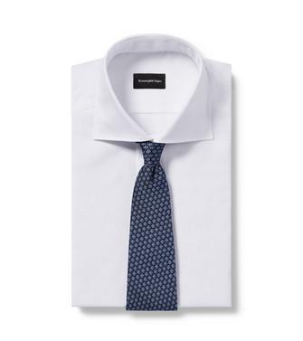 ERMENEGILDO ZEGNA: Cravate Bleu - 46434513WT