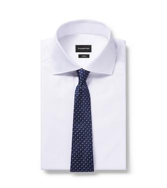 ERMENEGILDO ZEGNA: Tie Blue - 46434515EI