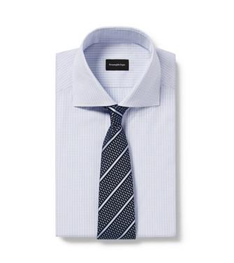 ERMENEGILDO ZEGNA: Corbata Azul celeste - 46434517UU