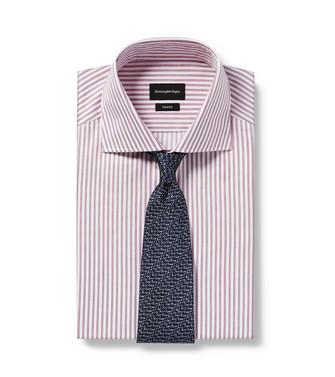 ERMENEGILDO ZEGNA: Cravate Bleu - 46434518DW