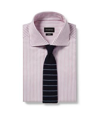 ERMENEGILDO ZEGNA: Cravate Bleu - 46434521HT
