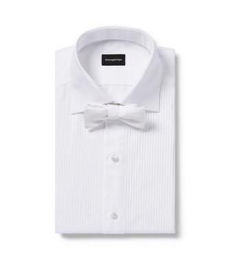 ERMENEGILDO ZEGNA: Bow Tie White - 46434524NK