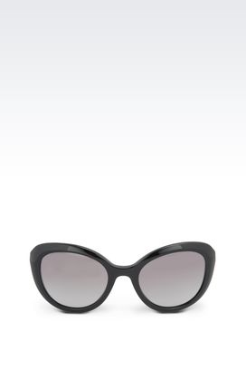 Armani sun glasses Women cat-eye acetate sunglasses