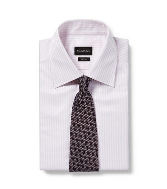 ERMENEGILDO ZEGNA: Tie Dark brown - 46435056KV