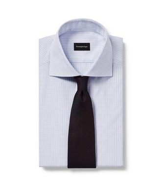 ERMENEGILDO ZEGNA: Cravate Aubergine - 46435057OS