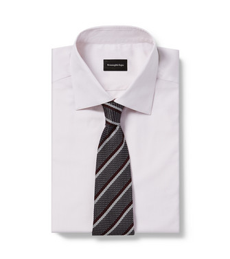 ERMENEGILDO ZEGNA: Tie Maroon - 46435060LQ