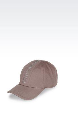 Armani Hats Men cotton baseball cap