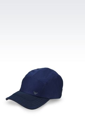 Armani Hats Men baseball cap in technical fabric