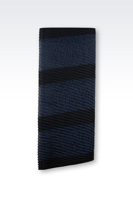 Armani Stoles Women wrap in striped fabric