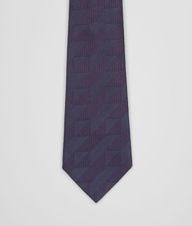 TIE IN MIDNIGHT BLUE SILK