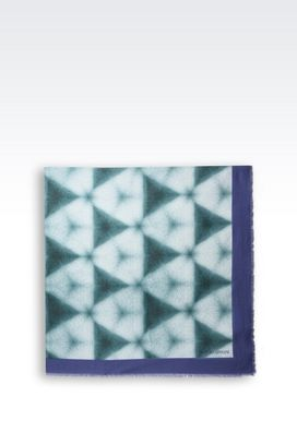 Armani Foulards Men cotton scarf