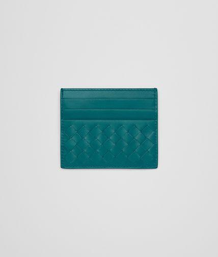 CARD CASE IN CANARD INTRECCIATO VN