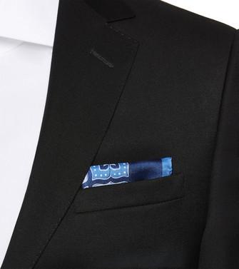 ERMENEGILDO ZEGNA: Pochette Blue - 46437151XA