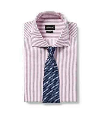ERMENEGILDO ZEGNA: Cravate Bleu roi - 46437574CP