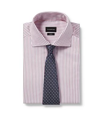 ERMENEGILDO ZEGNA: Cravate Bleu - 46437576GK