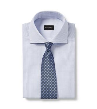 ERMENEGILDO ZEGNA: Cravatta Celeste - 46437587LC