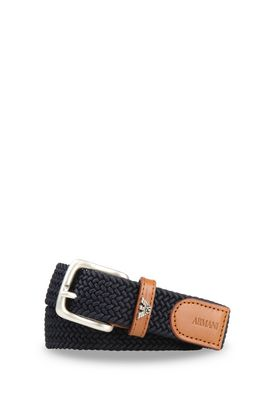 Armani Belts Men belt in fabric and leather