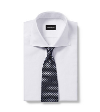 ERMENEGILDO ZEGNA: Cravate Bleu - 46438874LP