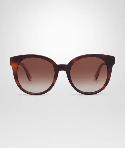 SUNGLASSES IN HAVANA ACETATE BROWN LENS