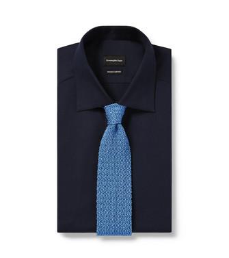 ERMENEGILDO ZEGNA: Cravate Bleu d'azur - 46439700KQ